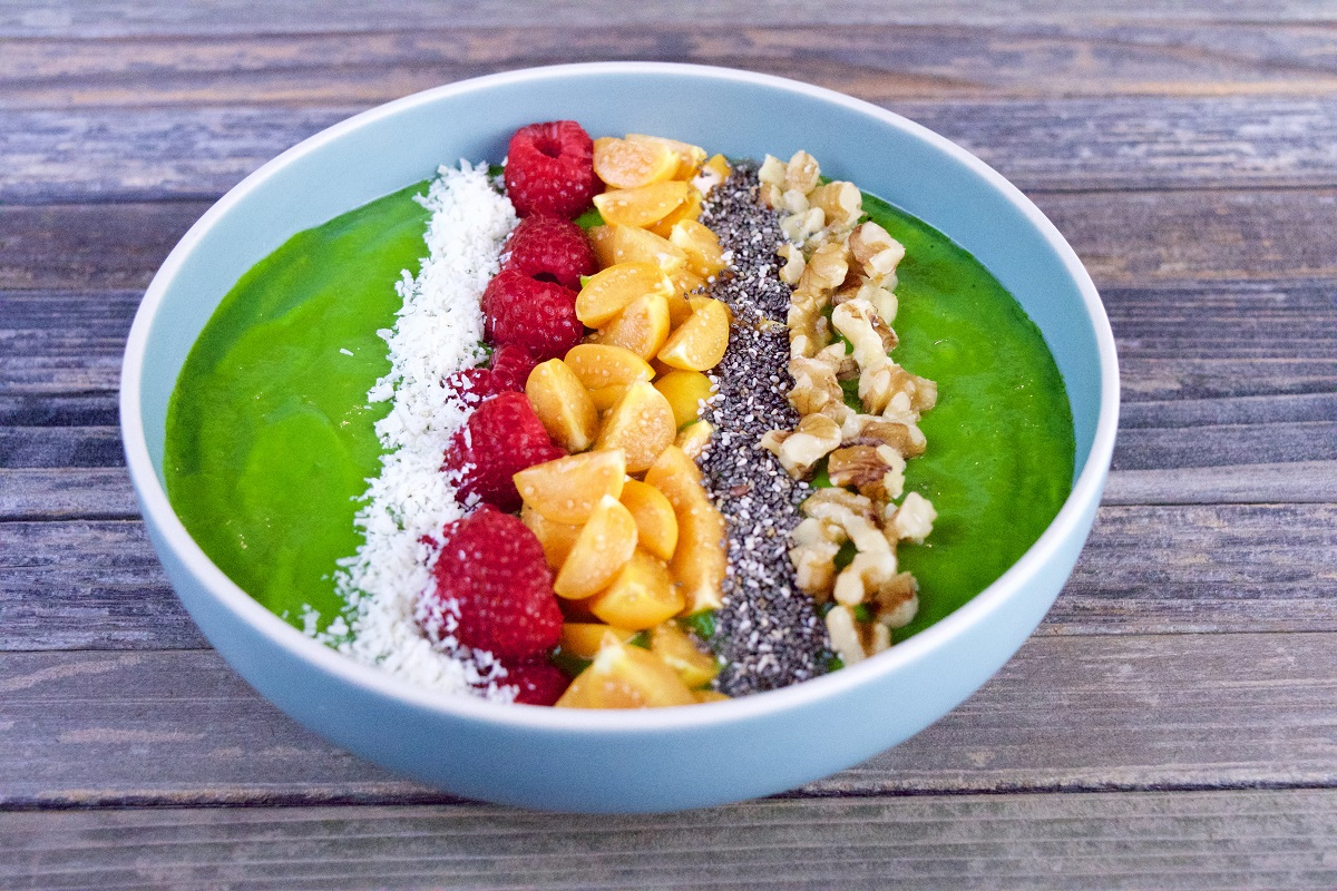LOW Creamy Pichuberry Smoothie Bowl 2
