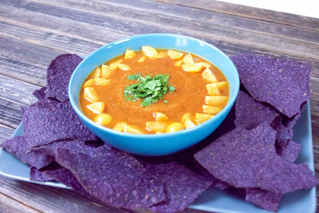LOW Pichuberry-Tomato Salsa
