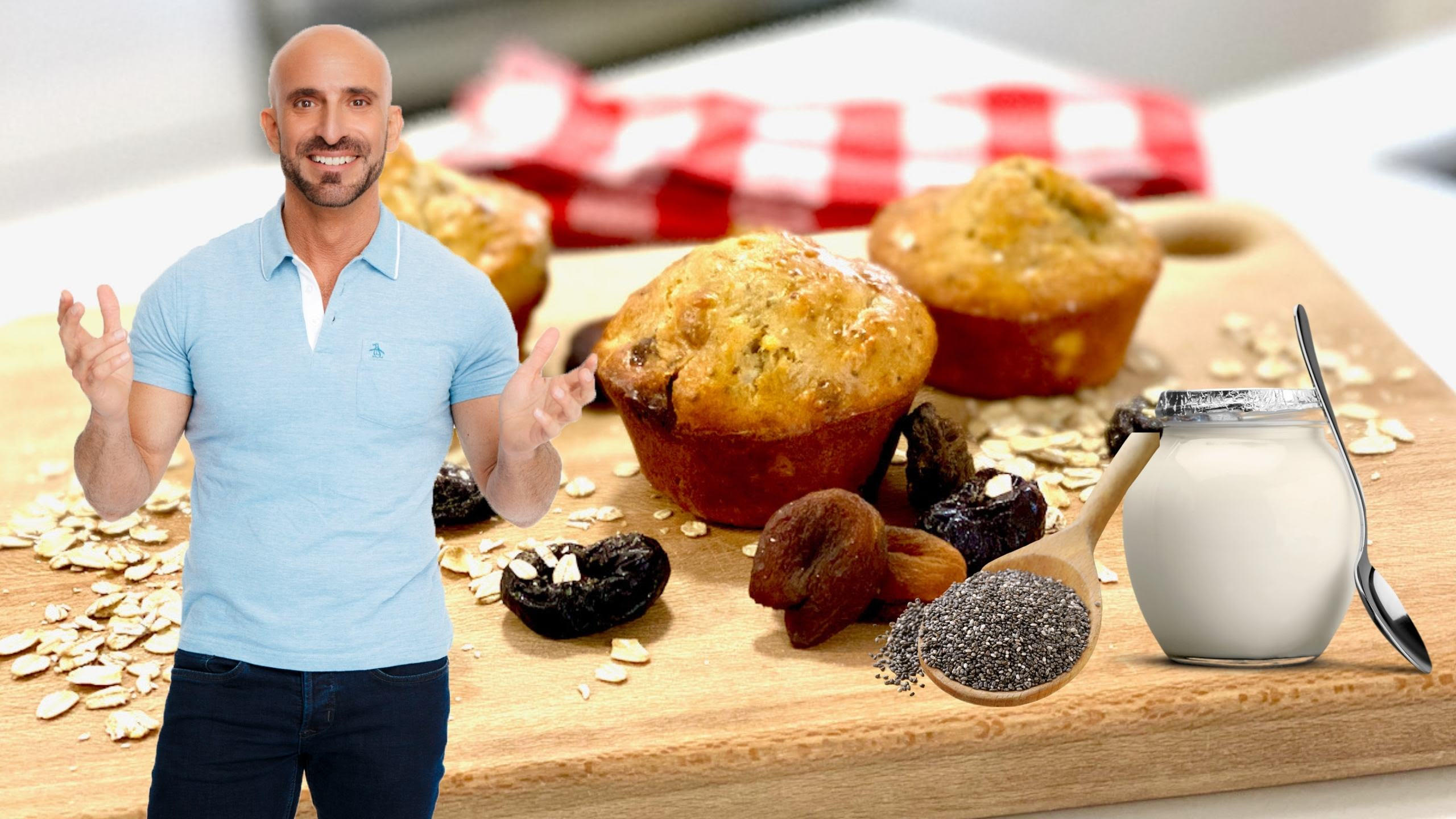 How to Make a Delicious High Protein and Fiber Muffin